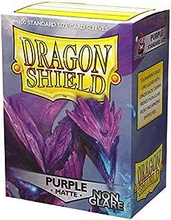 Dragon Shield 100 Count Standard Size Matte Non-Glare Deck Protector Sleeves