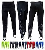 Acclaim Athens - Mallas elásticas para hombre, de poliéster con estampado reflectante, para senderismo, ejercicio, fitness, entrenamiento, elástico, para cintura (negro, XXL)