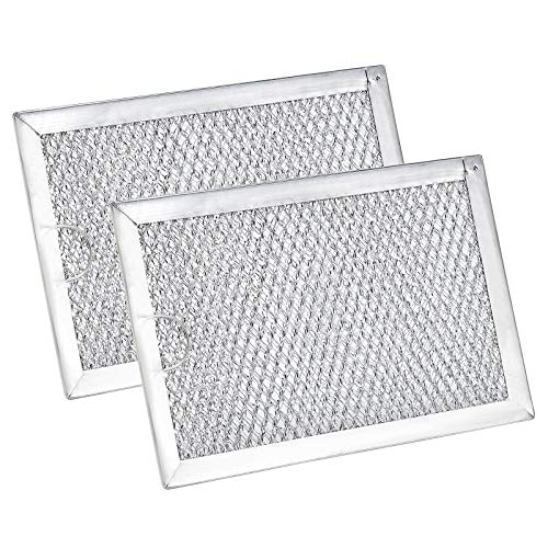 WB06X10309 Filter Microwave Oven Grease Filter [ Packed In Box] Compatible with GE Microwave Filter Replacement Parts by AMI PARTS- 7-5/8 x 5 x 3/32 Inch 2 Packs
