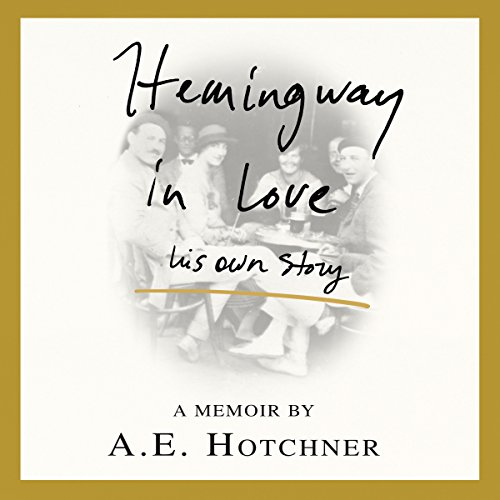 Hemingway in Love audiobook cover art