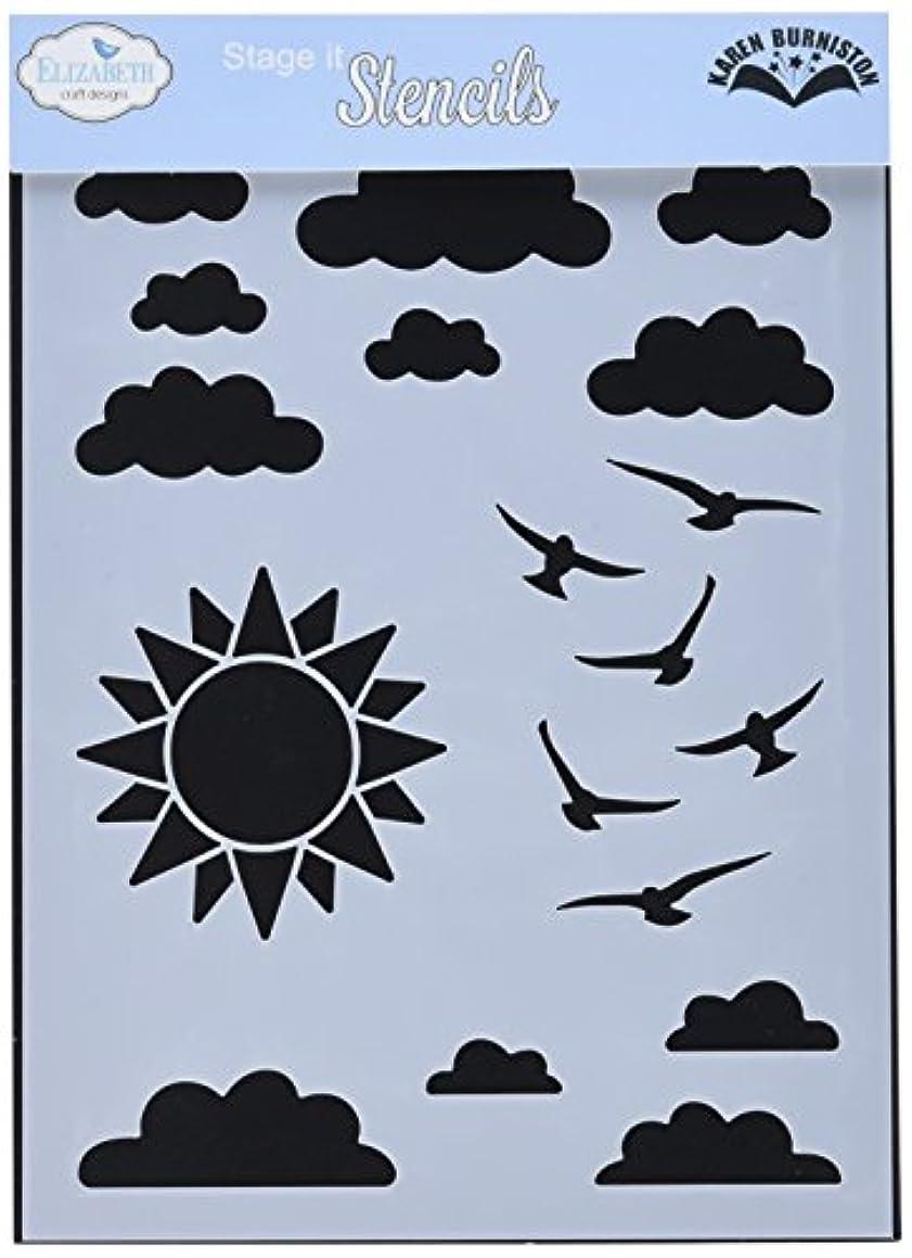 Elizabeth Craft Designs Stencil 5