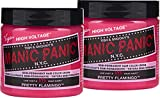 Manic Panic - Pretty Flamingo Classic Creme Vegan Cruelty Free Semi-Permanent Hair Colour - 2 x 118ml