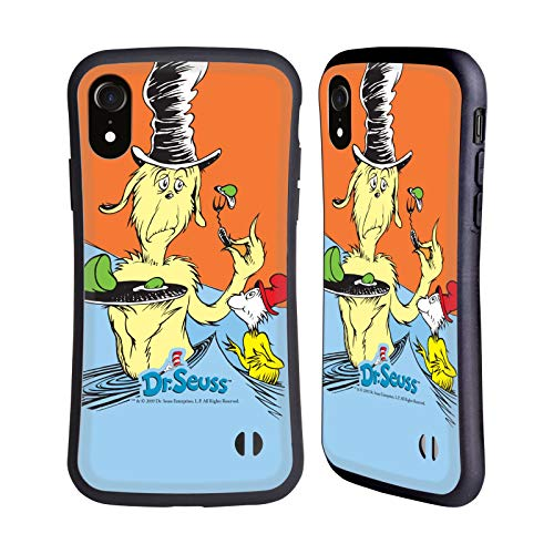 Official Dr. Seuss Taste Green Eggs And Ham Hybrid Case Compatible for iPhone XR