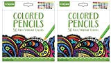 Crayola Colored Pencils, 50 Count, Vibrant Colors, Pre-sharpened, Art Tools, (2 Pack of 50)