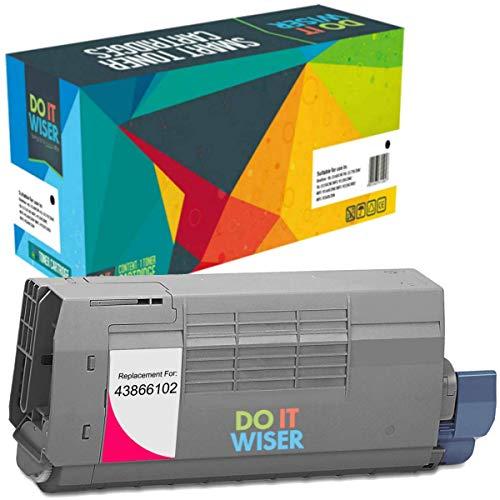 Do it Wiser Compatible Toner Cartridge Replacement for Oki C710 C710DN C710DTN C710N C711n C711DN C711DTN C711CDTN Magenta
