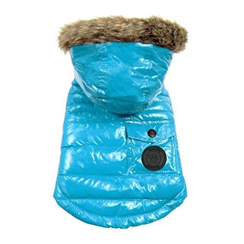 FouFou Dog FFD 61090 2016 Winter Coat Hundemantel, XL, Marineblau