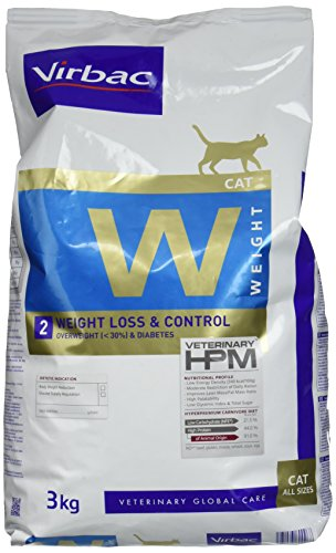 Virbac Veterinary HPM Cat Weight L&C Katzenfutter 3 kg