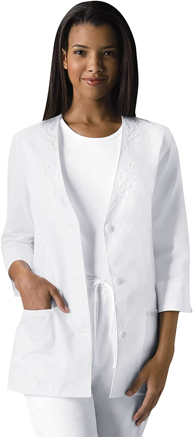 Max 43% OFF Now on sale Cherokee Women's 3 4 Sleeve Embroidered Jacket