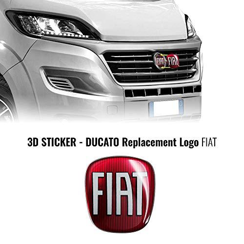 AMS 14237 Adhesivo Fiat Professional 3D Repuesto Logo para