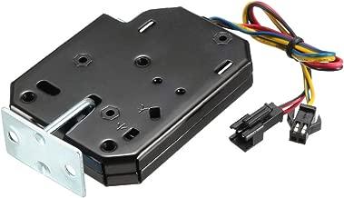 uxcell DC 12V 2A Electromagnetic Solenoid Lock Electirc Magnetic Lock for Cabinet Door Lock