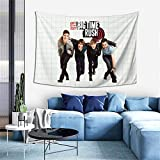 IkedaEriko Tapestry Wall Hangings 3D Printing Wall Blanket Wall Art Big Time Rush BTR Super Soft Throw Home Decor for Dorm Room 60x40 Inch