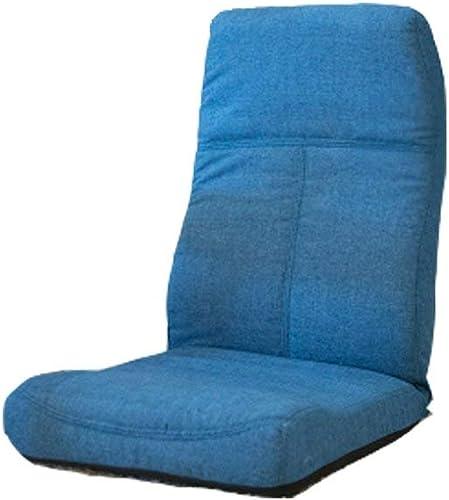 Sofa Kreative Sofa Faltbare Sofürückenlehne Stuhl Balkon Kissen Sofa Stuhl Mode Pers ichkeit Komfortable Weiße Freizeit Sofa, blau zu Hause