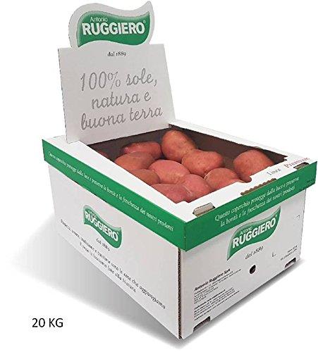 Patate Fresche Box LA ROSSA (NON DOLCE) By Antonio Ruggiero patate dal 1889