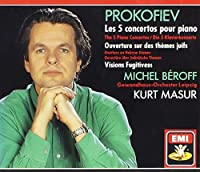 Prokofiev: Five Piano Concertos, Overture on Hebrew Themes (1992-08-05)