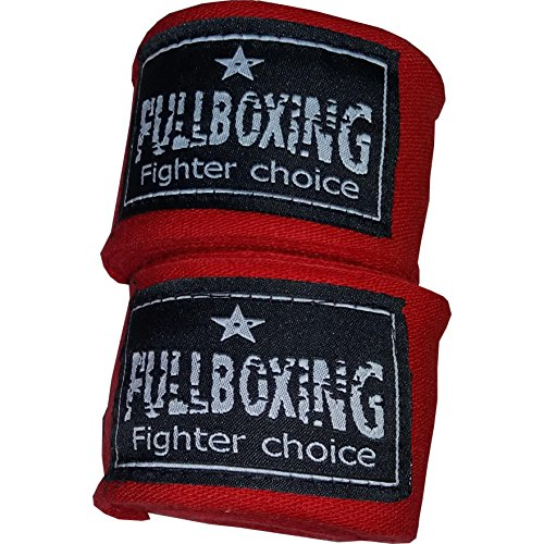 FULLBOXING 05094, Venda Unisex, Rojo, 5 m, Pack de 2