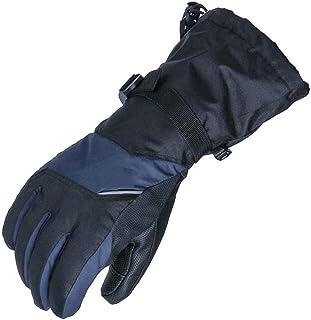 Touchscreen Ski Snowboard Gloves Men Women Waterproof Black Rose Red Winter Cold Weather Warm Outdoor Windproof Snow Mittens