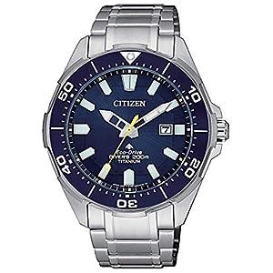 Citizen Promaster Diver 200mt Eco Drive Super Titanio BN0201–88L, reloj