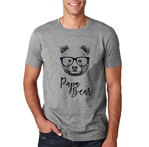 huateng Support de Famille T-Shirt Cartoon Tie Bear Family Pack Maman Papa Kid Baby Shirt Haut