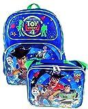Toy Story 4 Mochila exclusiva de 16 pulgadas y bolsa de almuerzo aislada a juego