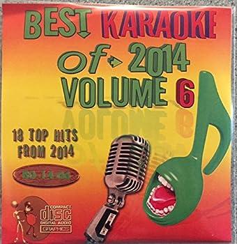 Best Of Karaoke 2014 Volume 6 CD+Graphics CDG 18 Pop & Country Tracks Meghan Trainor Sam Smith Taylor Swift Ariana Grande The Weekend Hozier Selena Gomez Ed Sheeran Carrie Underwood Big & Rich