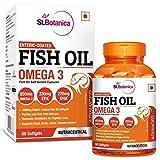 StBotanica Fish Oil 1000mg Advanced Double Strength 650mg Omega 3 with 330mg EPA, 220mg DHA - 60...