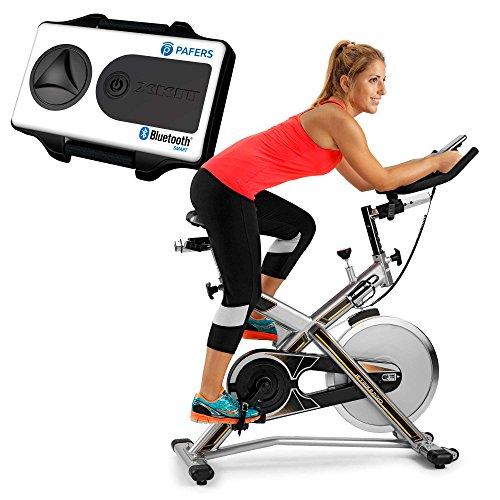 BH Fitness MKT Jet Bike PRO X, Bicicletta Indoor Unisex – Adulto, Nero, Taglia Unica