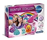 Clementoni 59172 Galileo Science – Bunter Schleim, lustige Experimente mit klebrigen Glibber & glitzernden Substanzen, Spielzeug für Kinder ab 8 Jahren, für kleine Chemiker