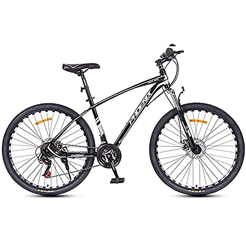 Bicicleta de montaña, ruedas de obras de 26 pulgadas, bicicleta portátil de 24 velocidades, para hombres, mujeres, adultos, jóvenes, estudiante de bicicleta de bicicleta de bicicleta para estudiantes.