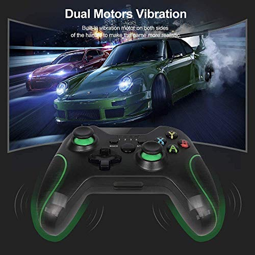 Wireless Controller for Xbox One, Enhanced Remote Game Joystick Compatible with Xbox One S, One X, One Elite, PS3, Windows10/8/7, Android Phone