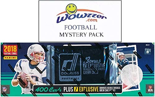 2018 Donruss NFL Football MASSIVE 401 Card Complete Factory Set with 101 ROOKIE Cards including EXCLUSIVE Rookie Threads Memorabilia! Plus Bonus WOWZZER Mystery Pack with AUTOGRAPH or MEMORABILIA Card