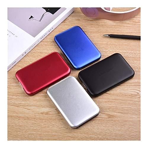 HDD 2,5 Pulgadas de Almacenamiento Externo de Disco Duro USB 3.0 HDD portátil HD Disco Duro Externo for la Mesa del Ordenador portátil del Servidor (Capacity : 1TB, Color : Red)