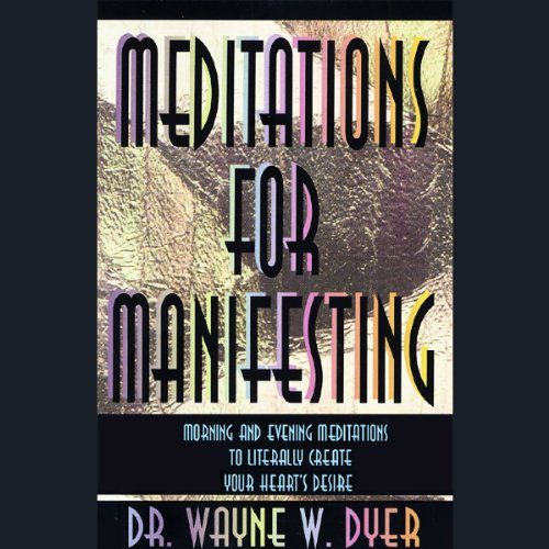 Meditations for Manifesting cover art
