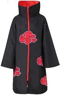 COSAUG Akatsuki Disfraz Adulto Itachi Abrigo,tamaño S