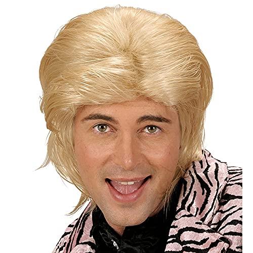 Perücke Wet Look Hair blond
