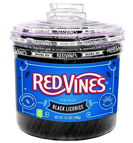 Red Vines- Original Red Twists (Black, 3.5 LB)