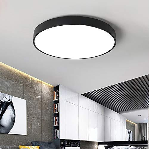 MIEMIE LED Deckenleuchte, Bürodeckenleuchte Badezimmerleuchte Badezimmerlampe, Innenleuchte IP44 Spritzwassergeschützt, Weiß 18W 120° Abstrahlwinkel [Energieklasse A+]