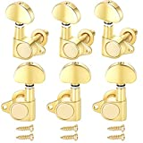 Gusnilo 1set 3l3r Grover-style guitar tuner Grover Tuners head gold