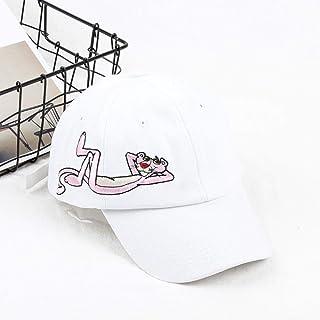 Moda Rosa Pantera Bordado Gorra de Béisbol Mujeres Cool City Outdoor Dad Hat Hombres Snapback Bones Cute Couple Hip Hop Caps
