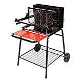 Somagic Vertical Charcoal Barbecue, Gray JBQ1305006
