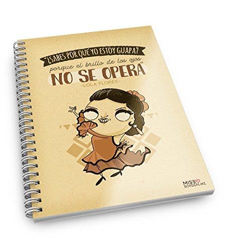 Missborderlike - Cuaderno A5 - ¿Sabes por qué yo estoy guapa? Porque...