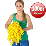 100er Paket Dittmann Rubber Band gelb Gymnastikband Fitnessband Rubber Band
