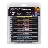 Letraset - Set nº 1 de ProMaker, 12 colores y blender