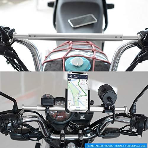 Barra de equilibrio de la motocicleta barra de equilibrio de la motocicleta soporte de expansión modificado barra de refuerzo GPS del soporte del teléfono móvil de la viga de aleación de aluminio