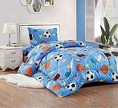 Comforter set 4pcs for kids, Single size, Moto