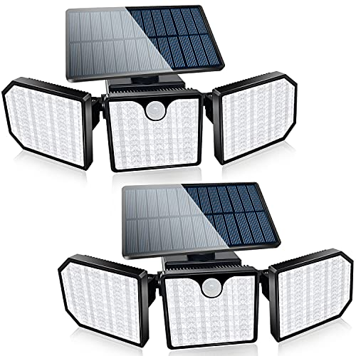 Bebrant Solar Lights Outdoor, 230 LED Solar...