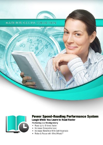 Power Speed-Reading Performance System: Laugh While You Learn to Read Faster (Made for Success Collection)