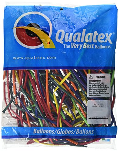 Price comparison product image Qualatex 160Q Carnival Assortment Tying Balloons (100ct)