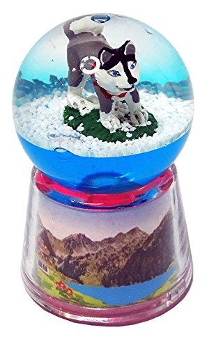 KDO-JOUETS.COM Boule Husky Lumineuse LED - Bleu