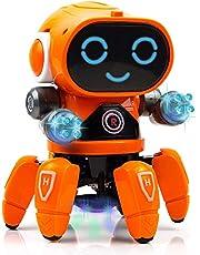 Toyshine Bot Robot Pioneer | Colorful Lights and Music | All