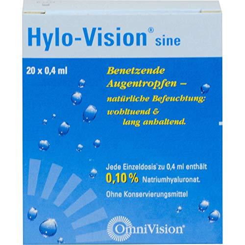 Hylo-Vision sine Einzeldosen, 20 St. Einzeldosispipetten